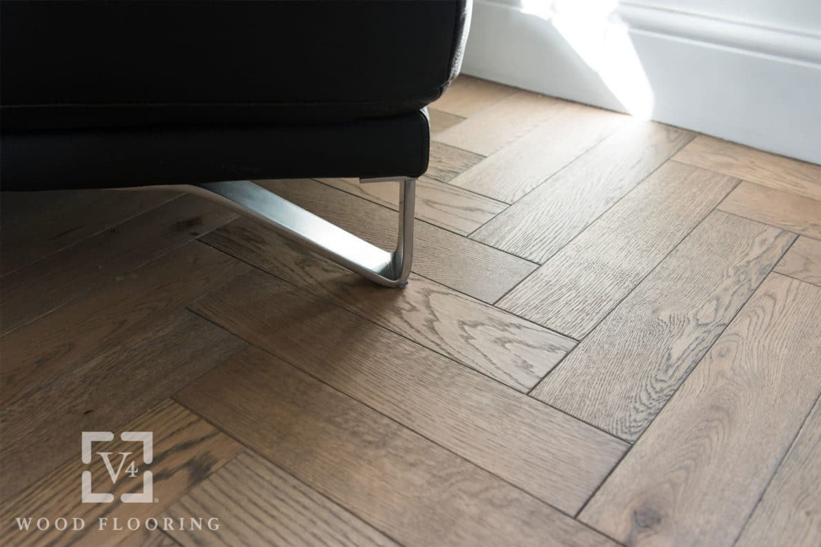 V4 Wood Flooring Zigzag