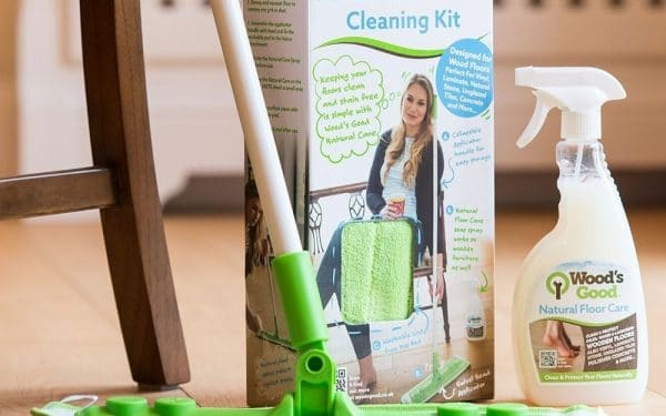 Natural Floor Care Cleaning Kit