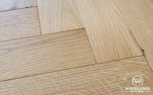 Woodlands Eco Pro Brused & Lacquered Oak Parquet