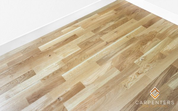 Carpenters Oak 3 Strip Lacquered