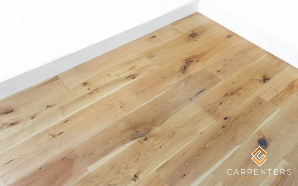 Carpenters Solid Oak Brushed & Oiled 150