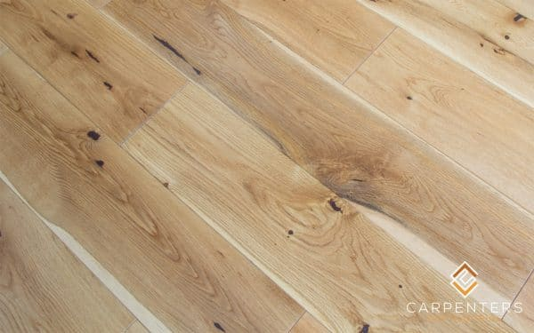 Carpenters Solid Oak Brushed & UV Oiled 125