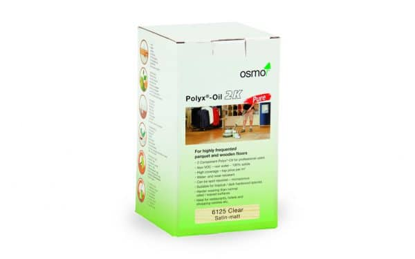 Osmo Polyx® Oil 2K Pure Clear Satin 1L | 6125